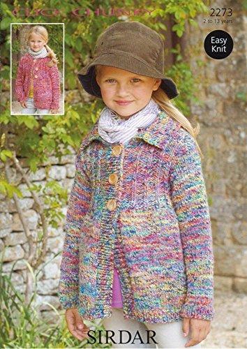 Sirdar Click Chunky Childrens Knitting Pattern 2273 By Sirdar