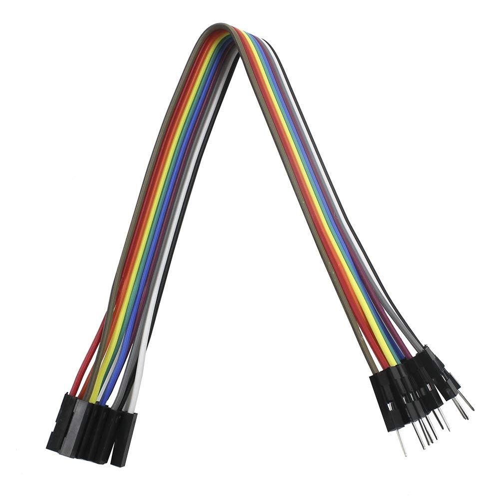 3pcs 20cm 10Pin M/âle Femelle C/âbles Dupont Jumper Wires KeeYees 2pcs 1 canal 3V Relais de Haut Niveau D/éclencheur Relay Module avec Optocoupleur pour Carte de D/éveloppement ESP8266