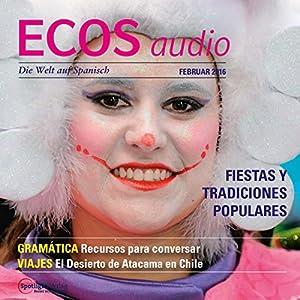 ECOS audio - Fiestas y tradiciones populares. 2/2016 Audiobook