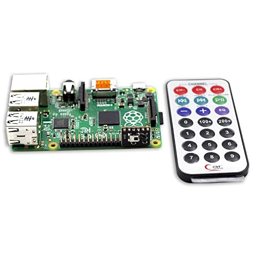 3 opinioni per SunFounder Media Remote Control With IR Receiver Module Kit For Raspberry Pi 3,