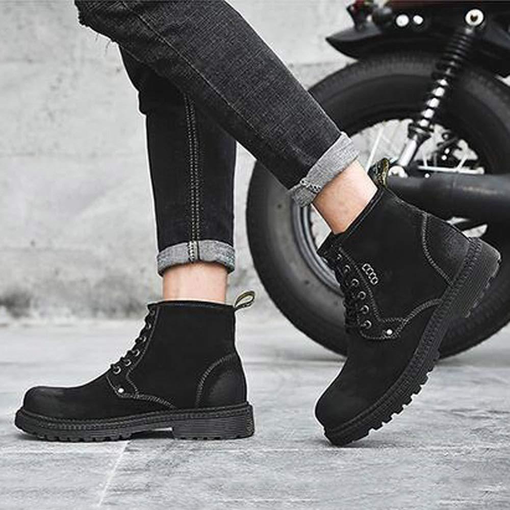 GZ Frauen Schuhe 34-43 Dicke Untere Winter Warme Martin Stiefel Weiblich/British Retro Student Flache Schuhe/Schnürschuhe Booties