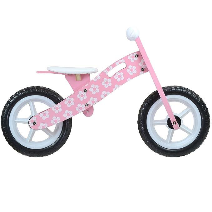 boppi® Bici sin Pedales de Madera para niños de 2-5 años - Rosa ...