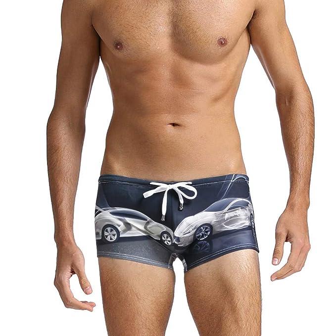 JUTOO 2019 Traje de baño Calzoncillos para Hombre Sujetador Trajes de baño Ropa de Playa Ropa Interior Tablas de Surf Pantalones: Amazon.es: Ropa y ...