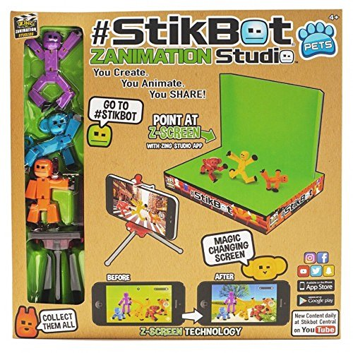 Zing Stikbot Action Figure