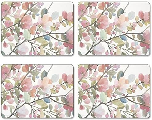 Jason Sets de Table Blossom Blush Bo/îte de 4