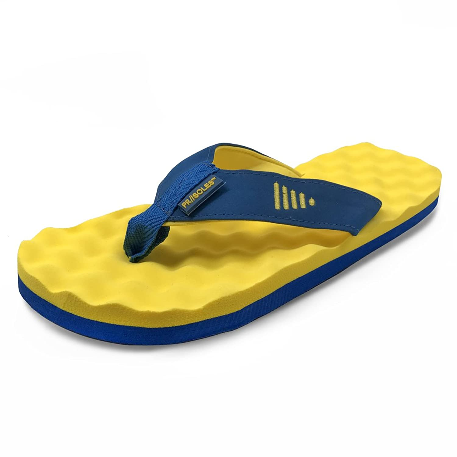 Unisex Non-slip Flip Flops Blue Volleyball Love Cool Beach Slippers Sandal
