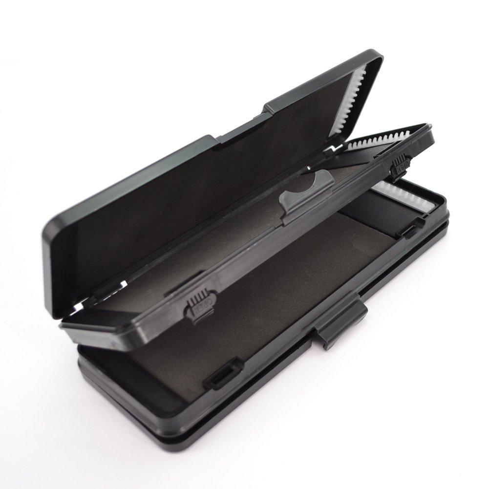 Hirisi Tackle Rig Wallet 6 Way Stiff Hair Rig Tackle Box for 72 Hair Rigs Carp Fishing