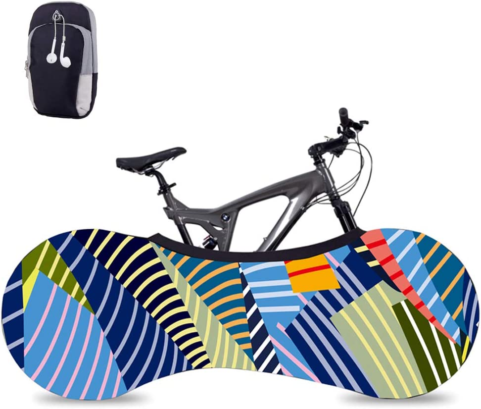 Bike Covers Indoor Travel Anti-dust Bicycle Garage Wheel Chain Cover FASHION