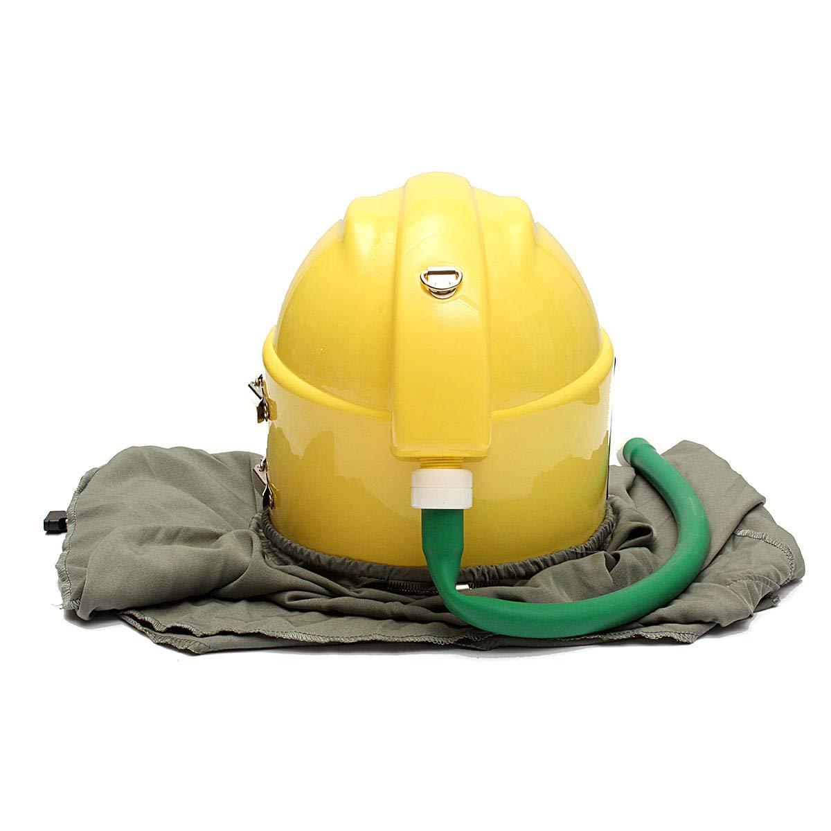 AIR FED Safety Sandblast Helmet Sand Blast Hood Protector for Sandblasting by Anddoa (Image #4)