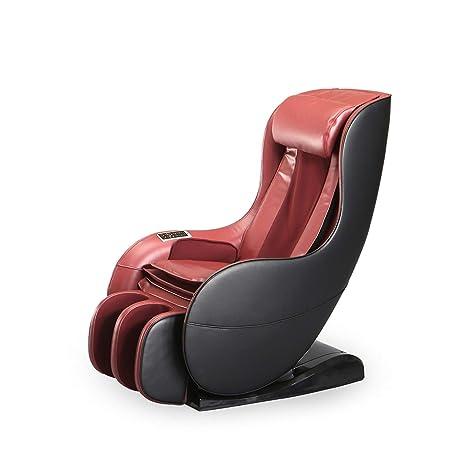 Bestmassage Zero Gravity Shiatsu Massage Chair Recliner Curved Video Gaming Chair Sl Track With Heater Burgundy