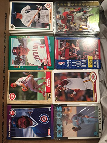 Baseball Cards Bulk - Mixed Lots of 2,000-2,400 Cards from 1960s to 2000 (may include Football, Basketball and Hockey cards)