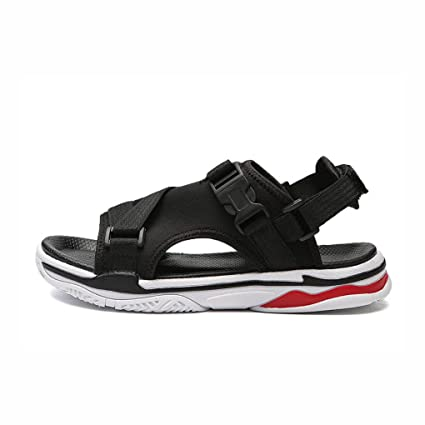 d506bd578 Men s Beach Shoes 2018 New Vietnamese Sandals Outdoor Korean Sports Casual  Sandals And Slippers Trend Wild