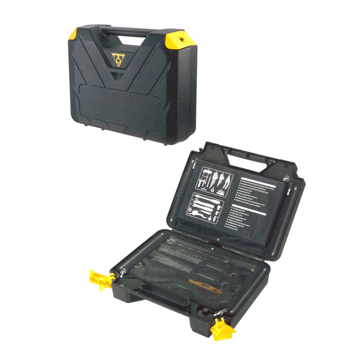 Topeak PrepBox cycle tool kit yellow/black
