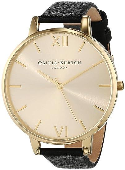 Olivia Burton Reloj Analógico para Mujer de Cuarzo con Correa en Cuero OB13BD06