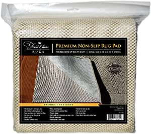 Amazon Com Premium Non Slip Rug Pad 4x6 Kitchen Amp Dining