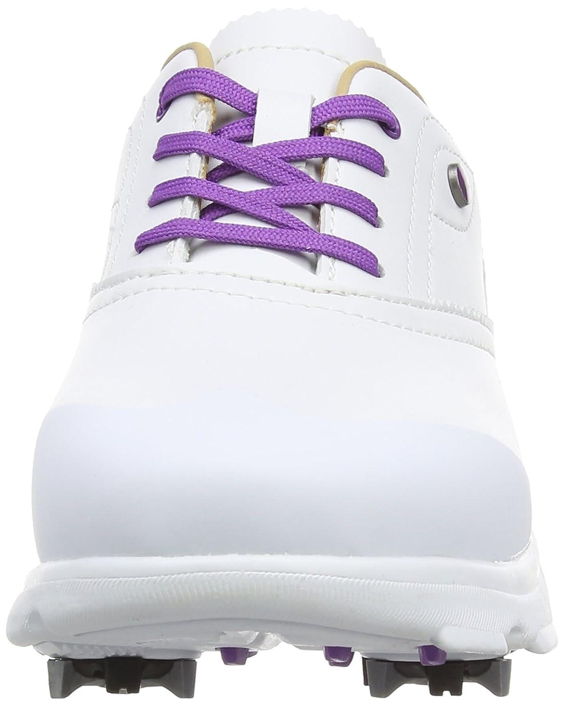 Hi-Tec Dri-Tec Classic, Damen Golfschuhe, Weiß (White/Purple), 42 EU