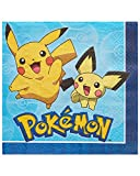 American Greetings Pokémon 16 Count Lunch Napkins Paper