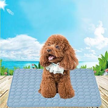 Colchoneta de Gel de Refrigeración para Perros, Alfombrilla de Gel para Mascotas y Gatos CoolCool