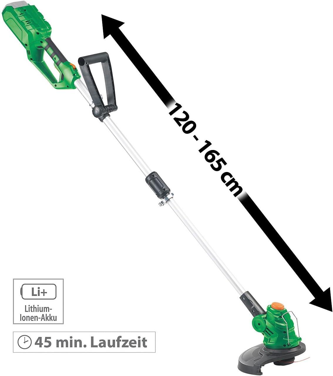 3,5 m AGT Professional Zubeh/ör zu Garten-Rasen-Trimmer 3er-Set Ersatz-Fadenspulen f/ür Akku-Rasentrimmer AW-40.rt Gartentrimmer