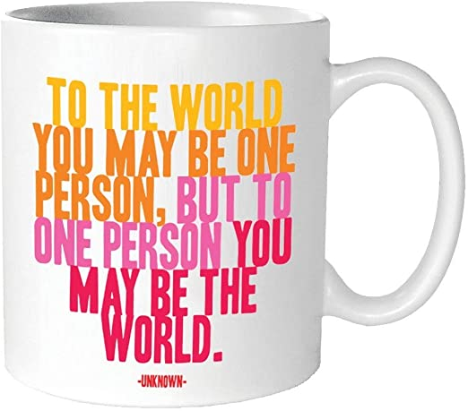 Quotable Cards Mug Be Who You Are