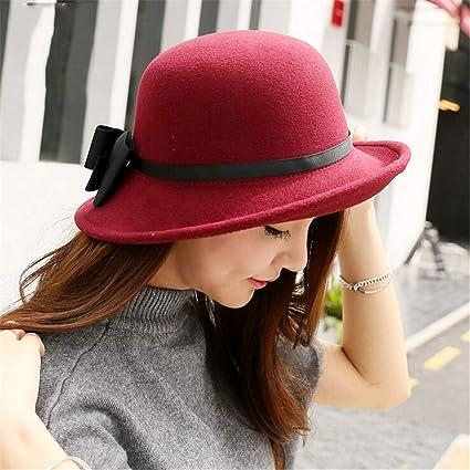 Amazon.com  Haluoo Cloche Bucket Hat for Women 0cf06608797