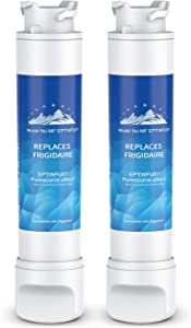(2 PACK) Mountain Flows EPТWFU01 Compatible EPТWFU01C, Puresource Ultra II, Puresource Ultra 2 Refrigerator Water Filter and Ice Filter
