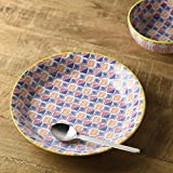 Colorful flower 9inch【Made in Japan】(美濃焼)2 sheets set