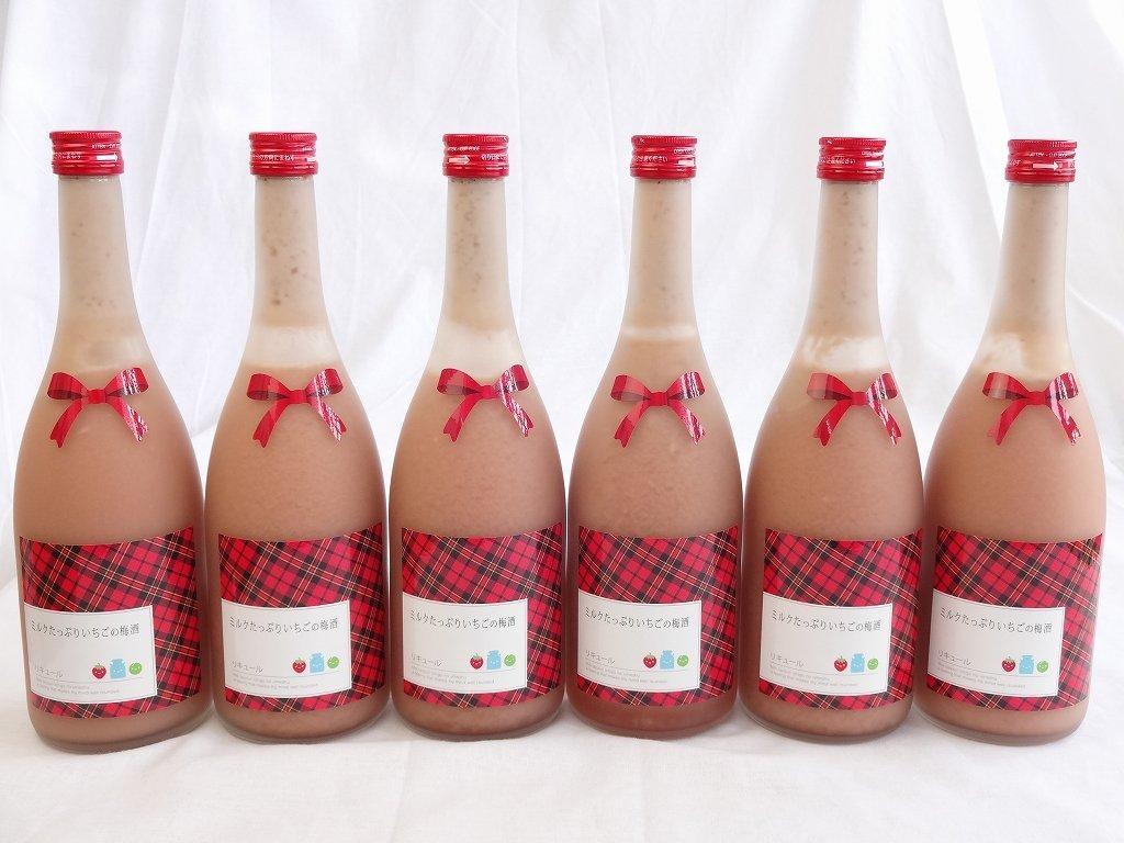 11本セット ミルクたっぷりいちごの梅酒 研醸 720ml×11本 B00NQS9HYS