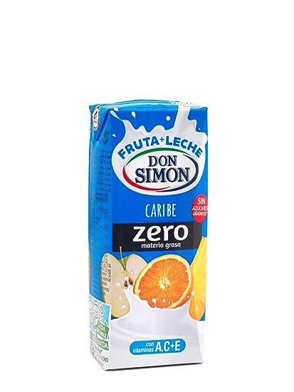 Don Simon Leche Desnatada y Zumo de Naranja, Uva, Manzana, Piña y Limón