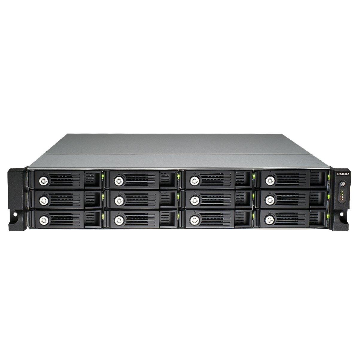 Qnap 12-bay High Performance Unified Storage (TVS-1271U-RP-i7-32G-US)