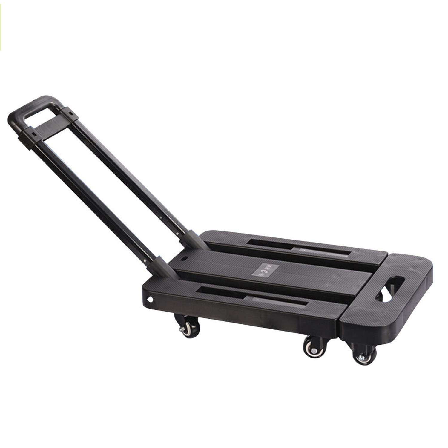 Hand Truck Folding Trolley 440 pounds Wheel Dolly Maximum Moving Luggage Adjustable by Heavens Tvcz