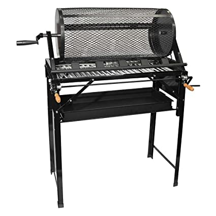 Amazon.com: 5 Burner Hatch Rotating Chili Roaster With Portable BBQ Stand & Regulator CR-BARBACOA: Garden & Outdoor