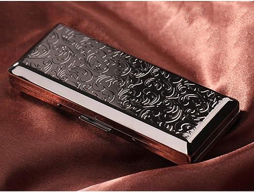 Cajas De Cigarrillos, Personalidad Creativa Acero Inoxidable Caja ...