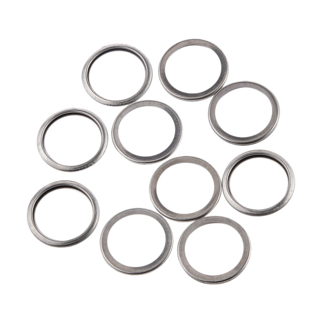 amazon 10pcs oil drain plug crush washer gasket set for subaru 1994 Subaru SVX amazon 10pcs oil drain plug crush washer gasket set for subaru 11126aa000 automotive