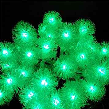 Amazon.com : BATOP Snowball luminarias10m 100 SMD led Christmas ...