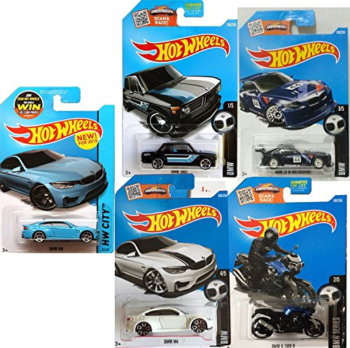 hot-wheels-bmw-2016-collection-m4-grabber-blue-white-z4-k-1300-r-motorcycle-blue-73-30-race-5-car-di