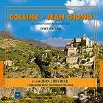 Colline (La trilogie de Pan 1) | Jean Giono