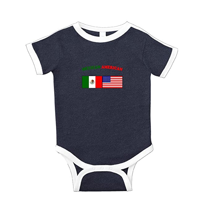 Image Unavailable. Image not available for. Color  Cute Rascals Mexican  American Cotton Short Sleeve Crewneck Unisex Baby Soccer ... c1e87a8c5