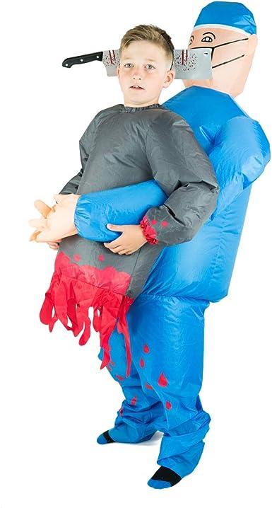 Amazon.com: Bodysocks - Disfraz hinchable para niños: Clothing