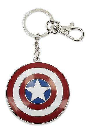 Llavero/Clip de bolso Marvel - Escudo del Capitán América