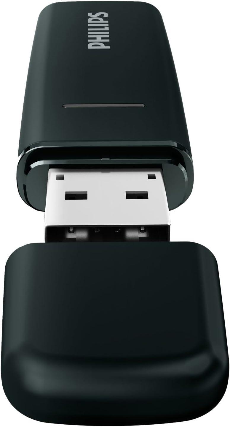 Philips Wireless USB - Adaptador de red USB (WiFi), negro: Amazon.es: Electrónica
