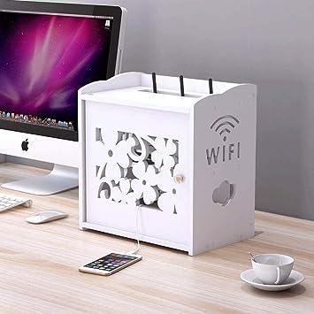 Estantería WiFi Cajas De Almacenaje Decorativo, Flotando ...