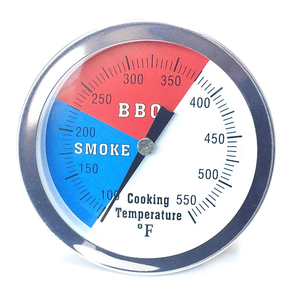 Qiorange 3 Professional Oven Bbq Charcoal Smoker Gas Grill Thermometer Temp Gauge For Barbecue Kitchen Cooking 80mm Dial 3 100 F 550 F Buy Online In Bahamas At Bahamas Desertcart Com Productid 75051006