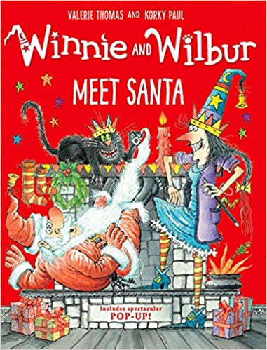 Image result for winnie and wilbur meet santa image