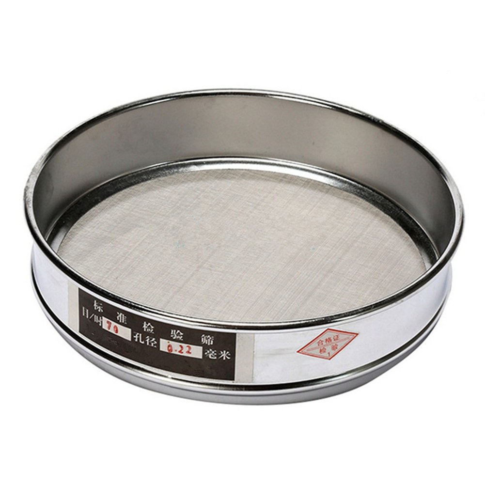 100 Mesh 0.15mm Aperture Lab Standard Test Sieve Stainless Steel 20cm by D.berite