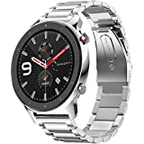 Amazon.com: Amazfit GTR Stainless Steel Smartwatch with GPS+ ...