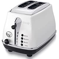 DeLonghi Icona, 2 Slice Toaster, CTO2003W, White