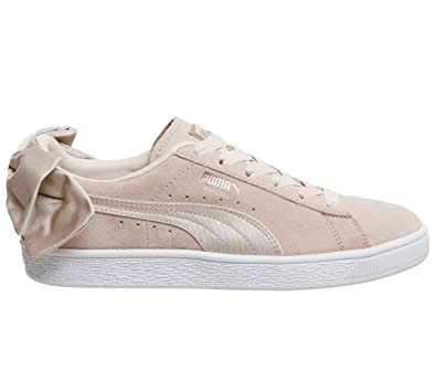 casual shoes sleek factory authentic Puma Suede Bow Trainers: Amazon.co.uk: Shoes & Bags