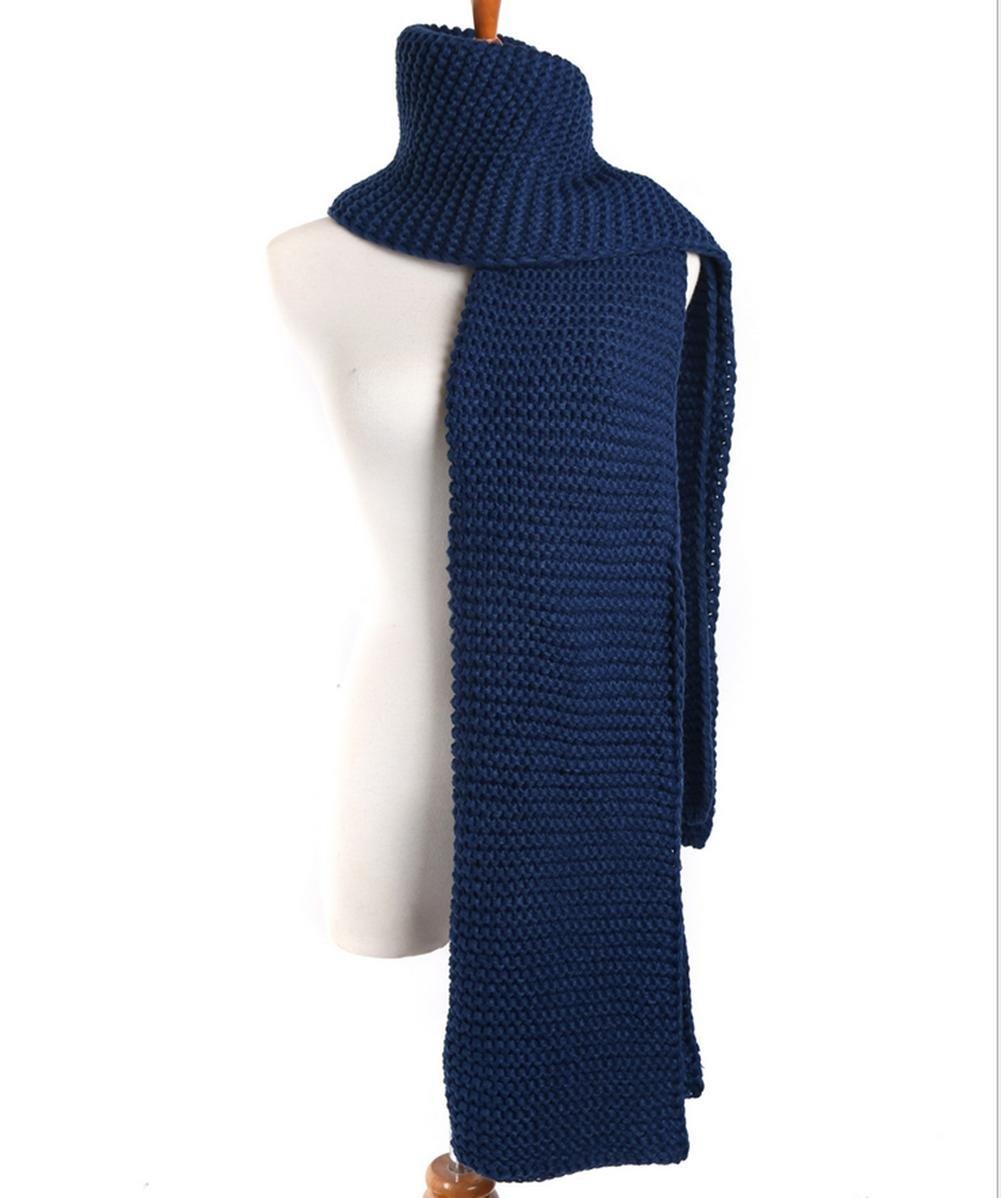 Super largo Stick Pin de grosor grueso bufandas de lana para otoño ...