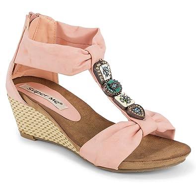 Schuhe mit keilabsatz amazon
